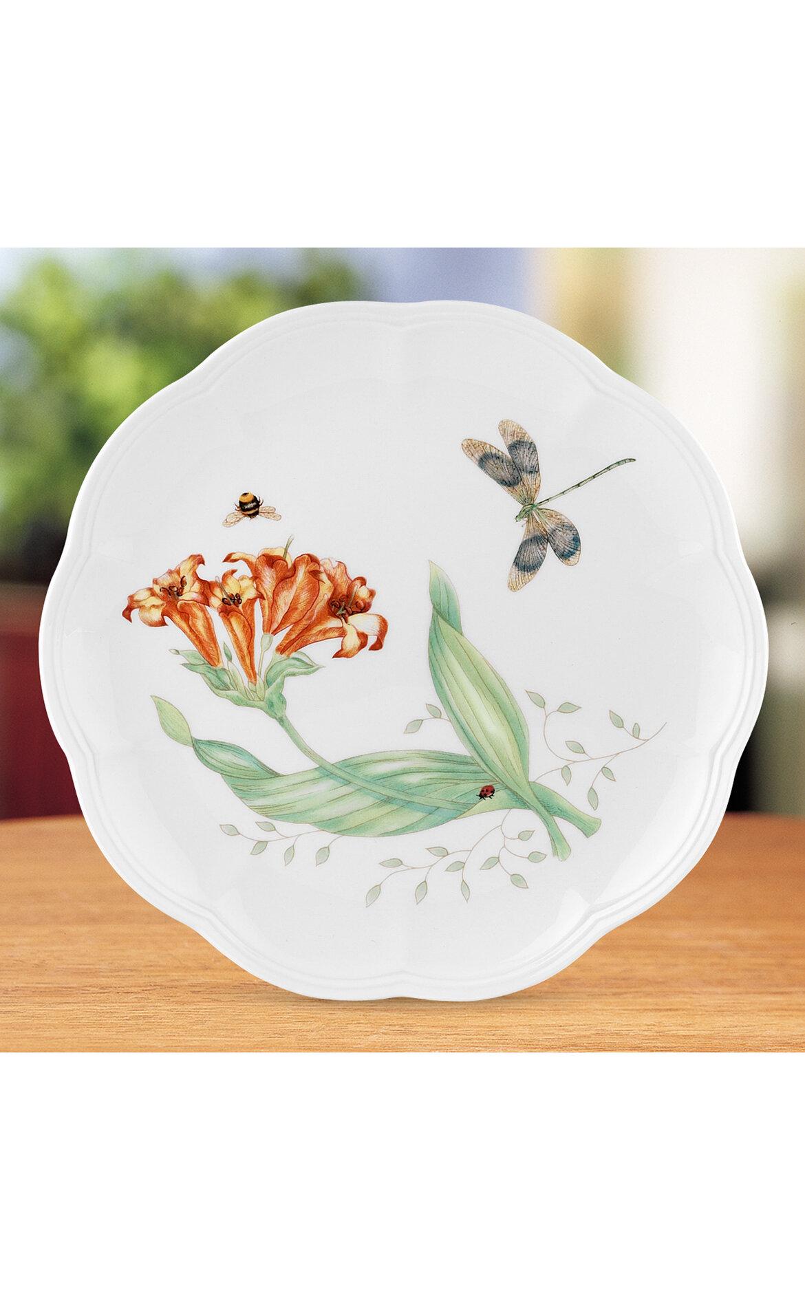 Lenox Butterfly Pasta Tabağı, Dragonfly - 23 cm