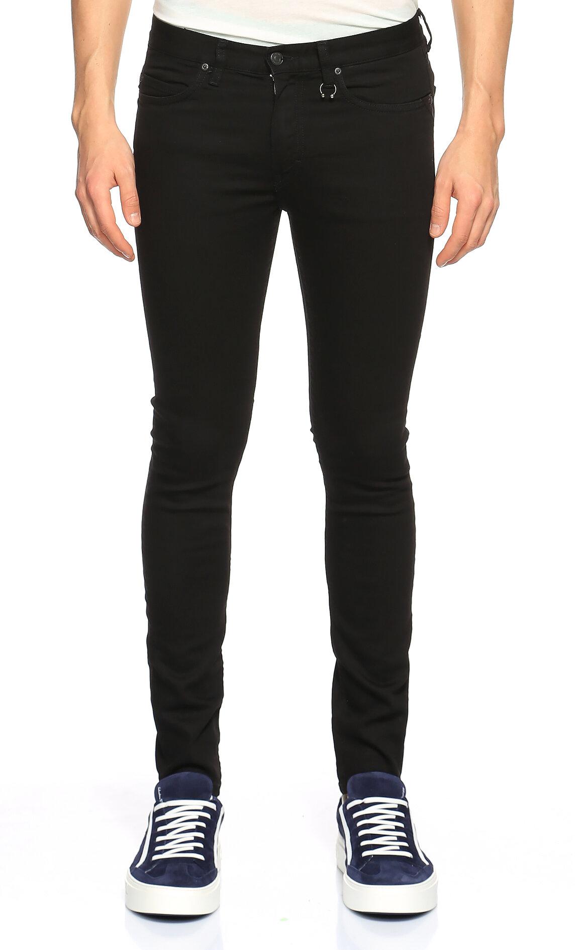 Hugo Boss Hugo Siyah Jean Pantolon