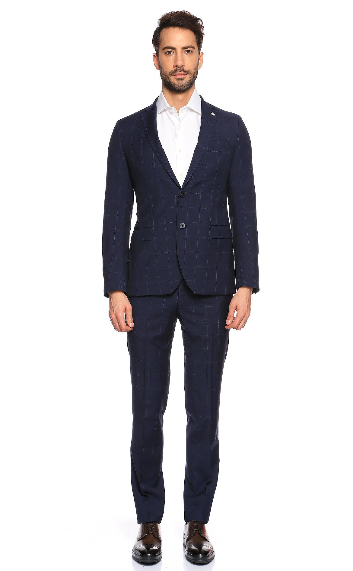 Manuel Ritz-Manuel Ritz Kareli Takım Elbise