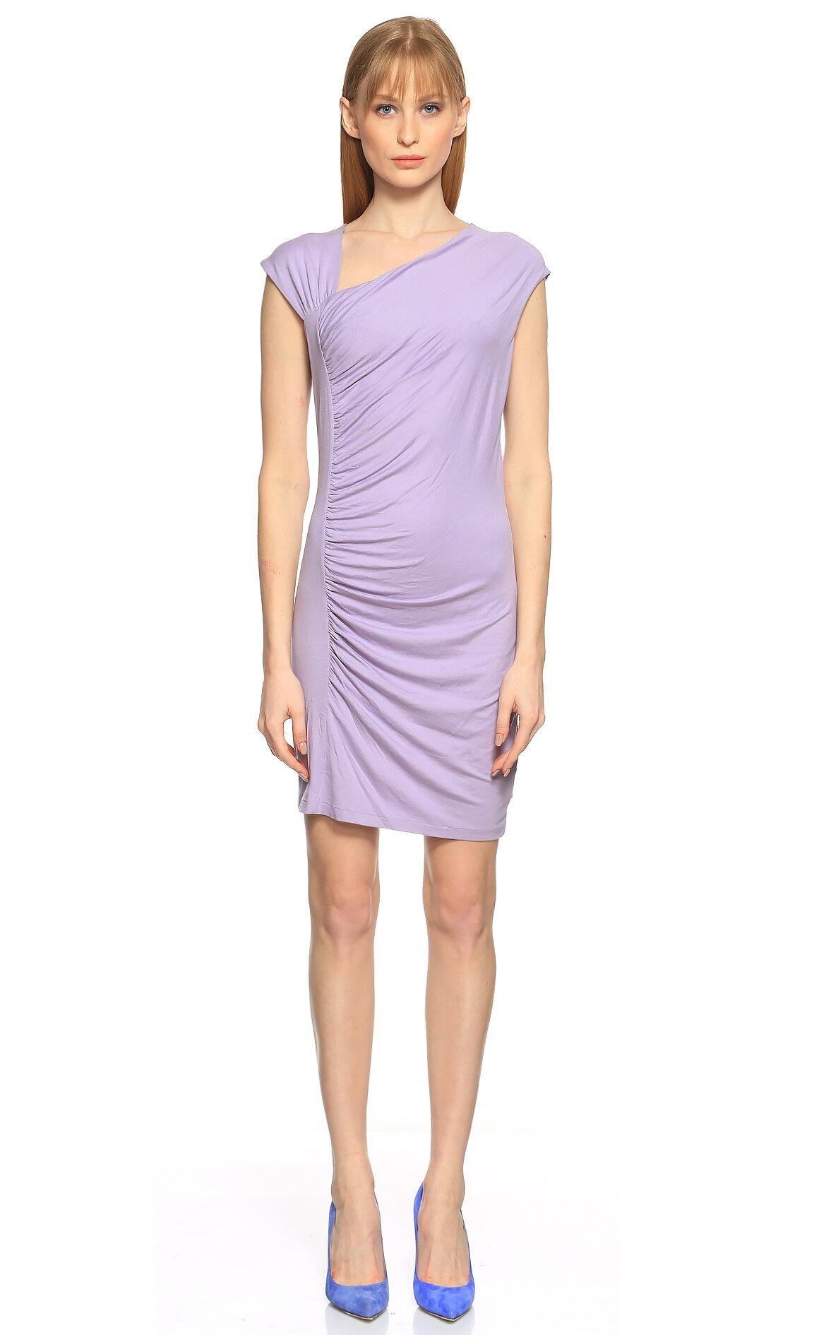 Guess-Guess Eflatun Mini Elbise
