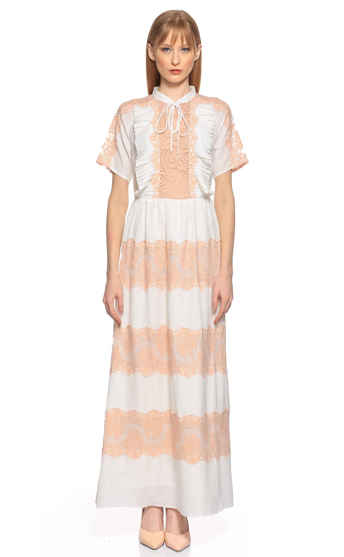 Silvian Heach-Silvian Heach Dantel Detaylı Elbise