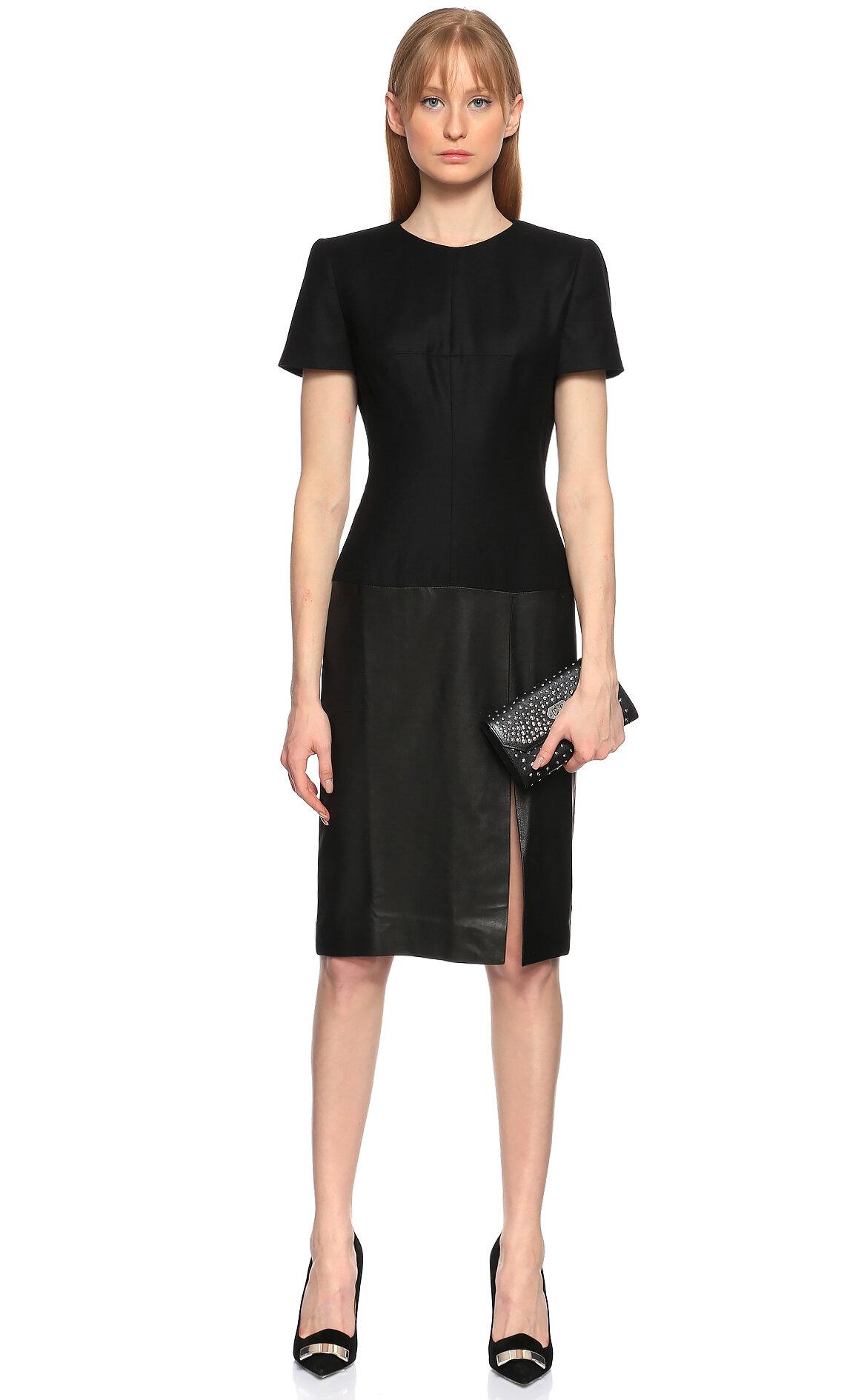 Alexander McQueen Siyah Elbise