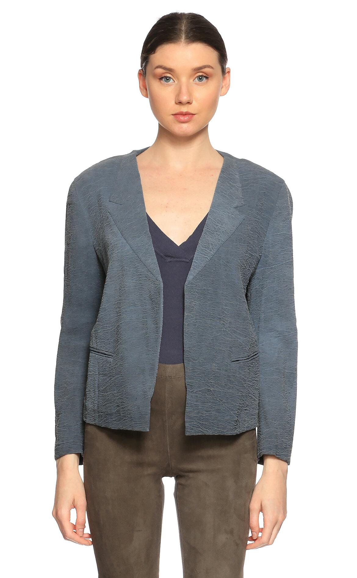 Donna Karan  Lacivert Ceket