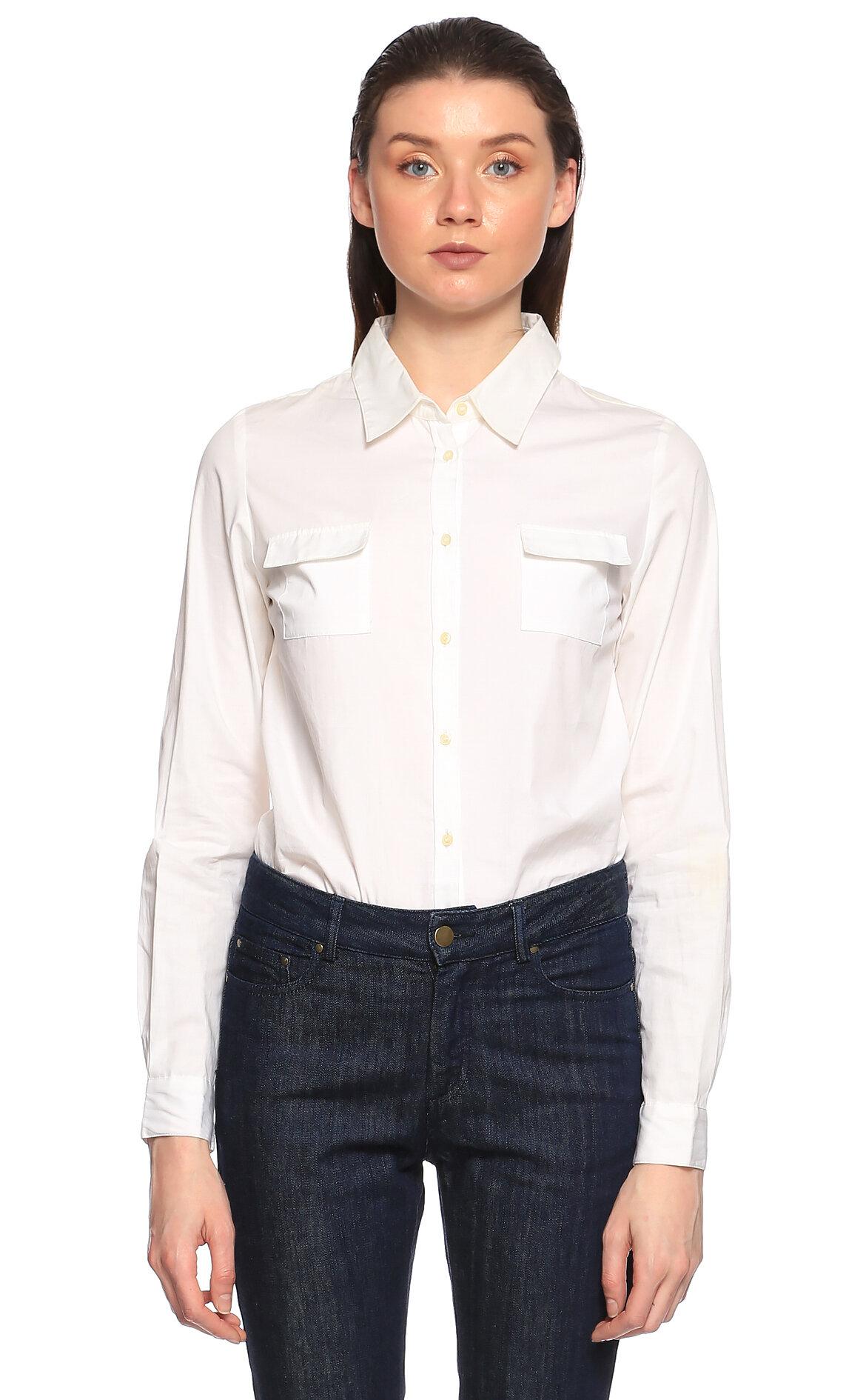 Pablo Cepli Beyaz Gömlek