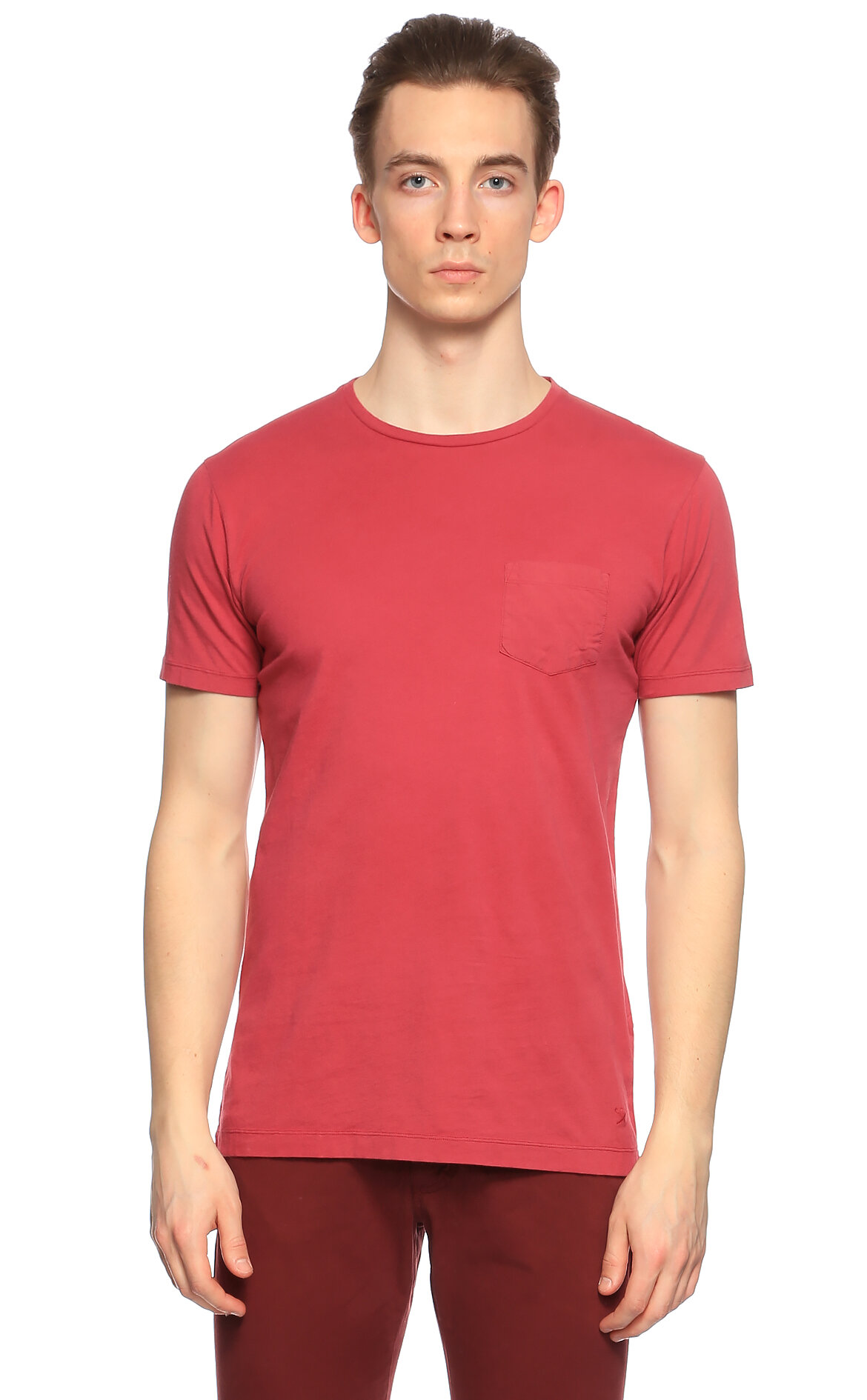 Hackett-Hackett Bordo T-Shirt