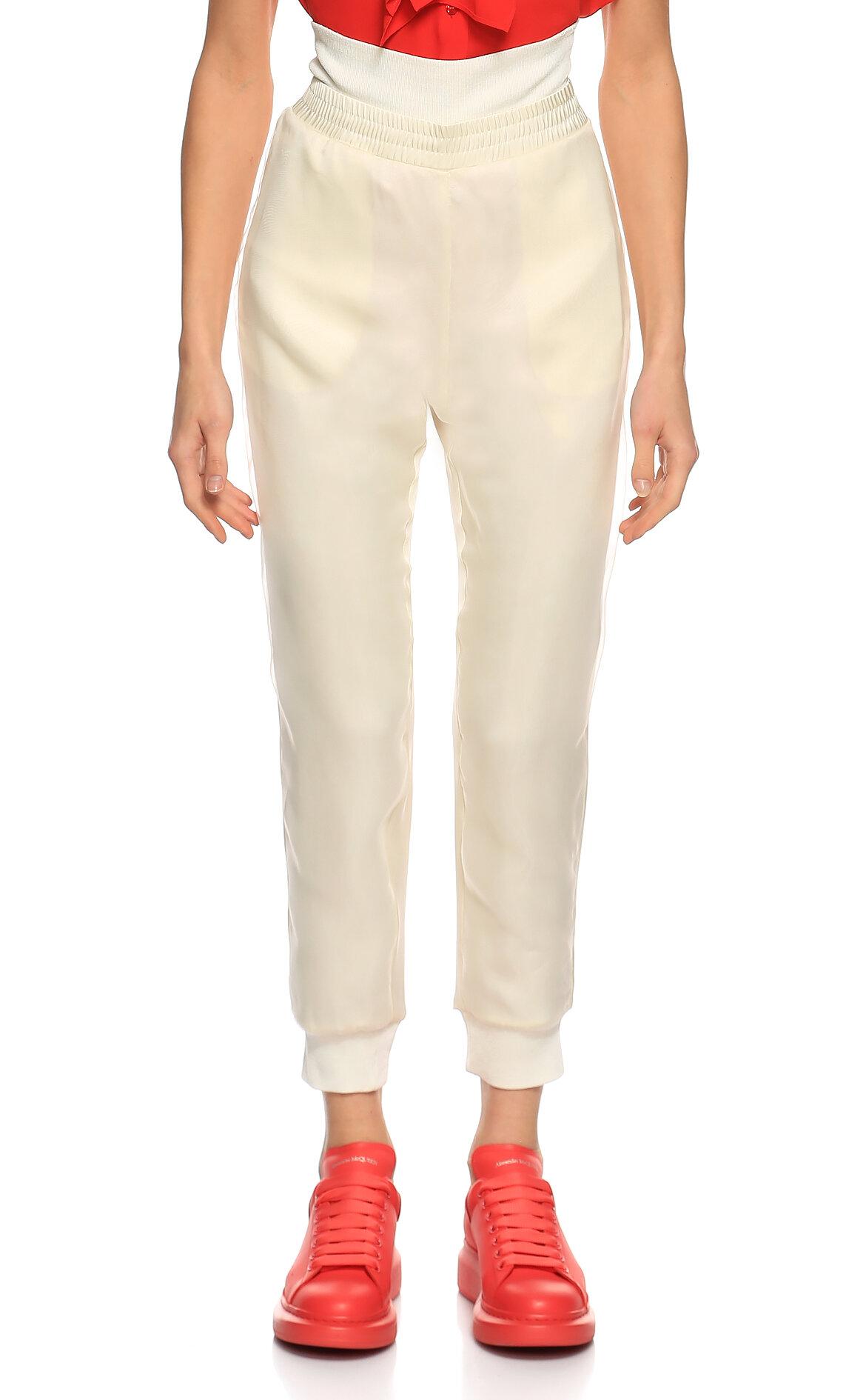 Alexander McQueen-Alexander McQueen Paçası Lastikli Pantolon