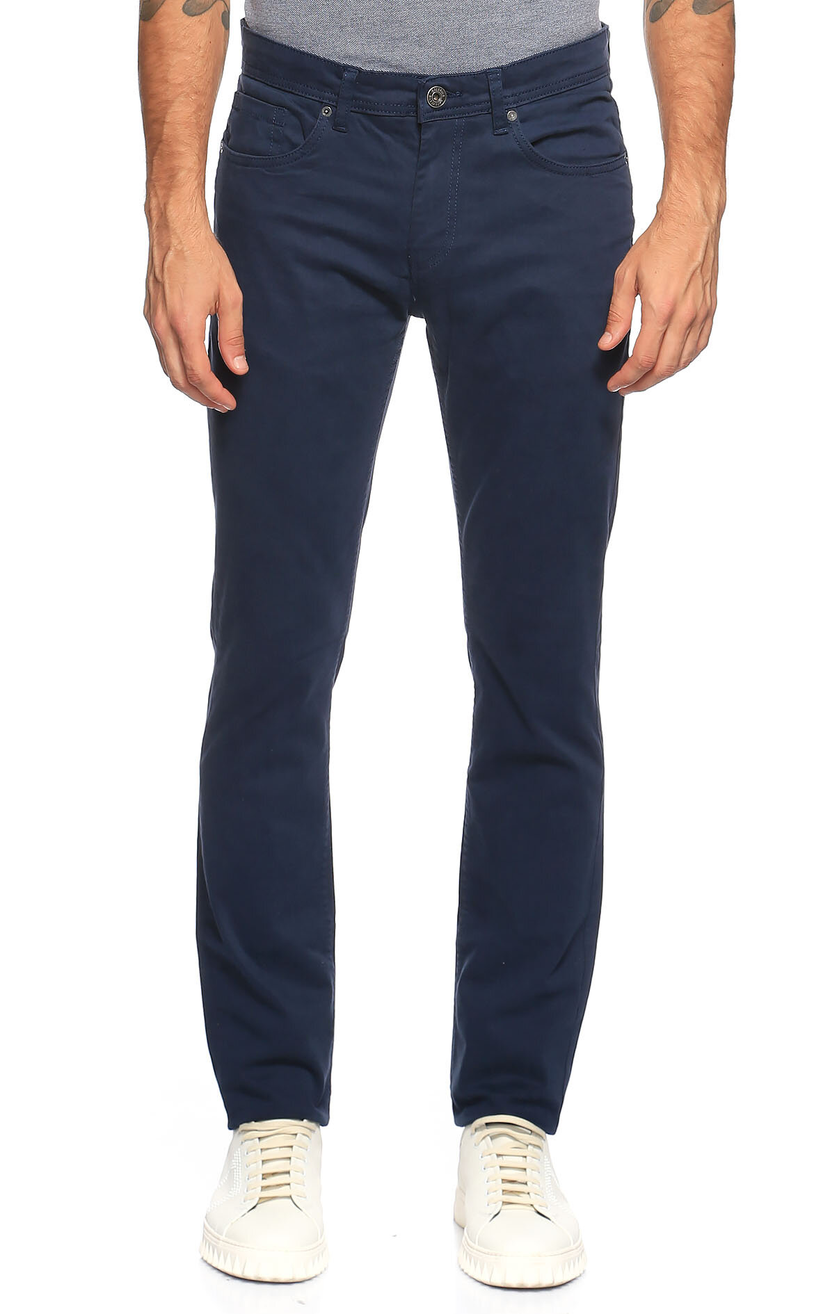 Casual Men-Casual Men Lacivert Pantolon