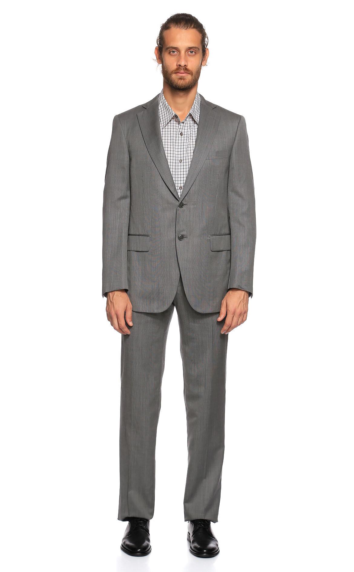 Pal Zileri-Pal Zileri Gri Takım Elbise