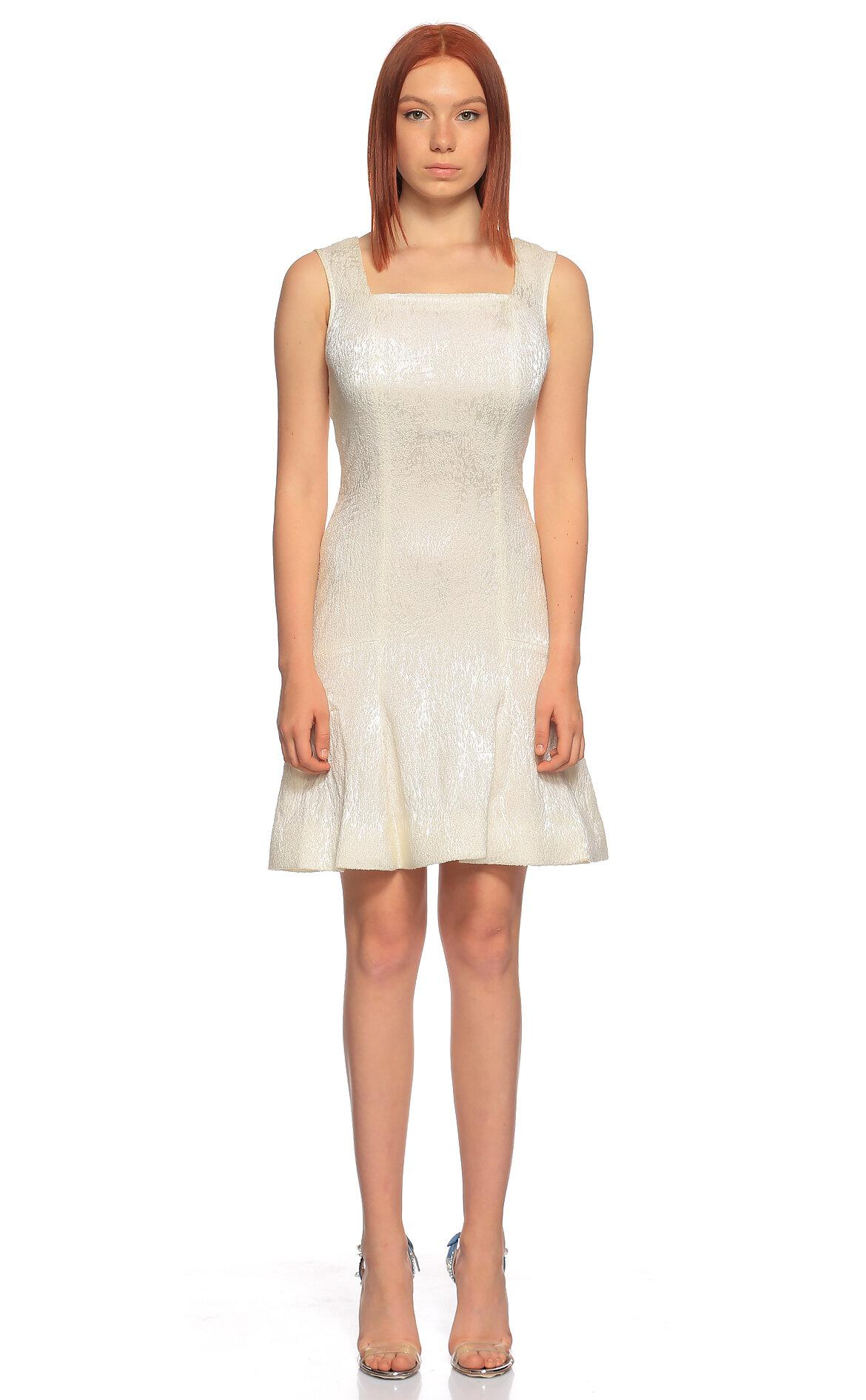 Philosophy Ferretti-Philosophy Ferretti Mini Beyaz Elbise