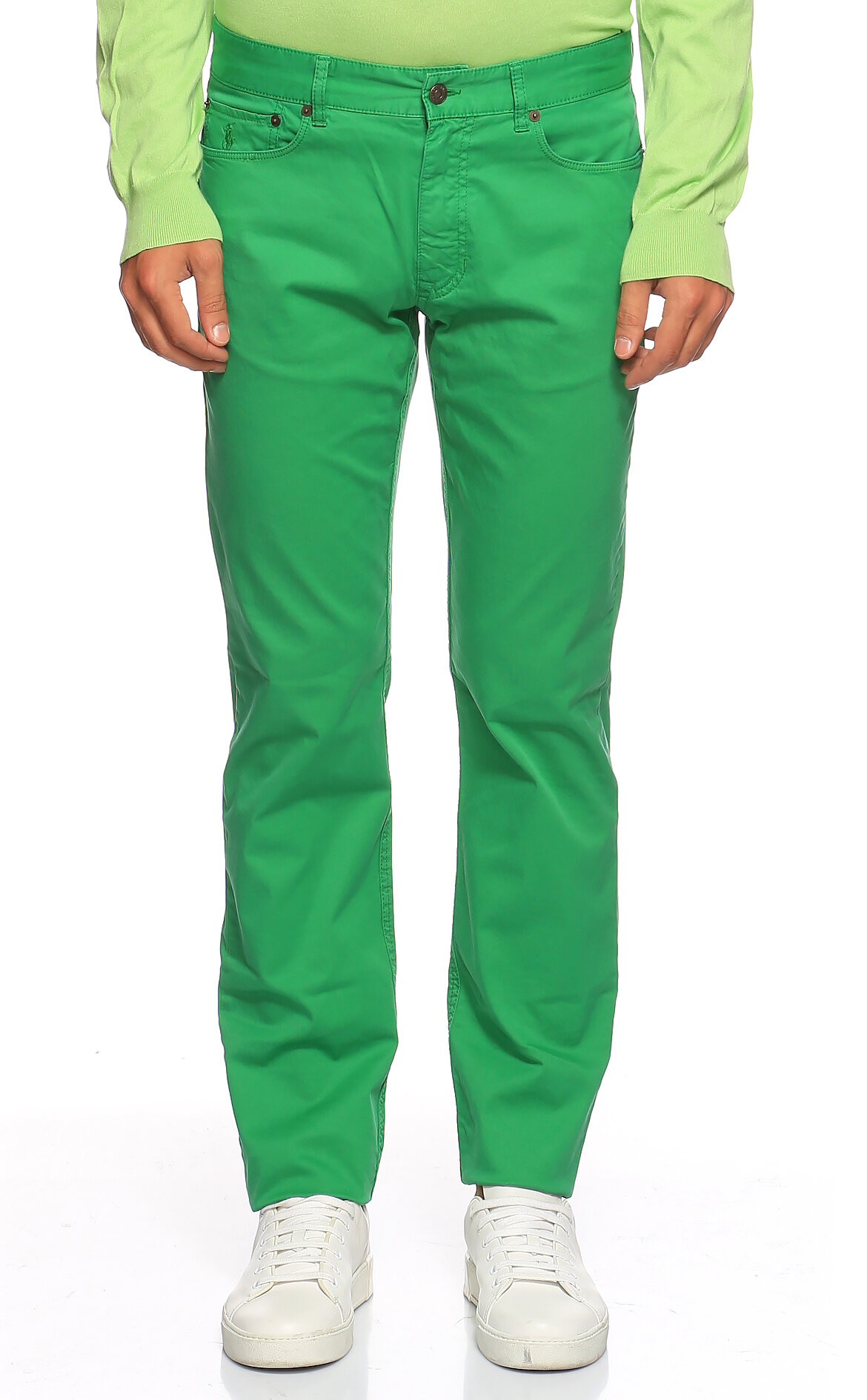 Ralph Lauren Blue Label-Ralph Lauren Blue Label Yeşil Pantolon