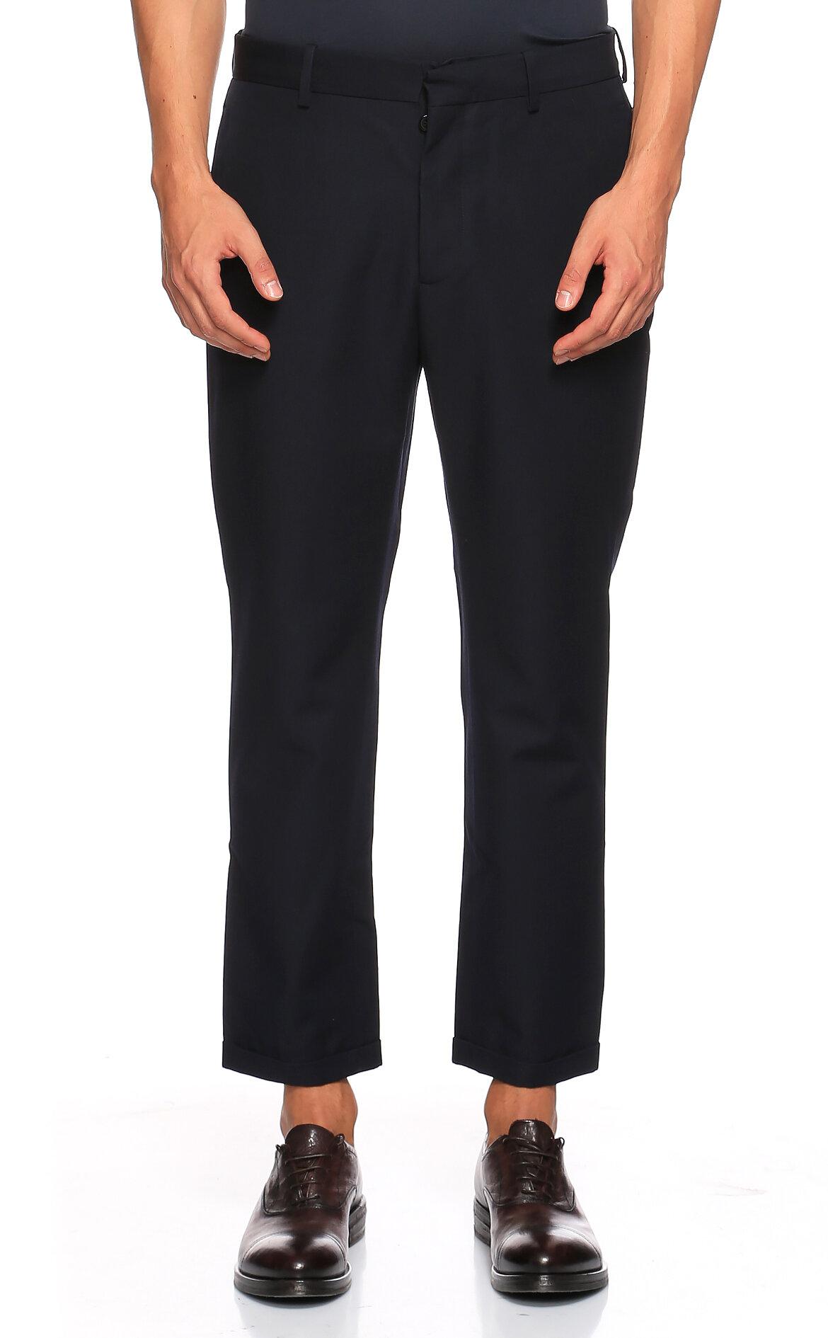 Marni-Marni Lacivert Pantolon