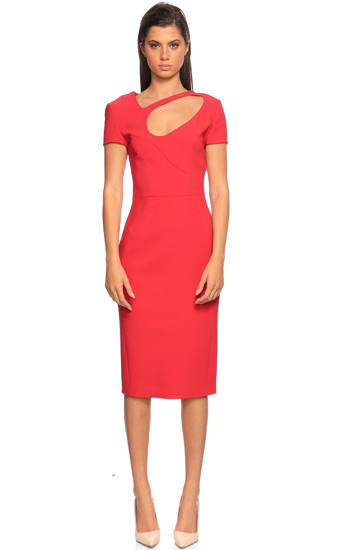Antonio Berardi  Kırmızı Elbise