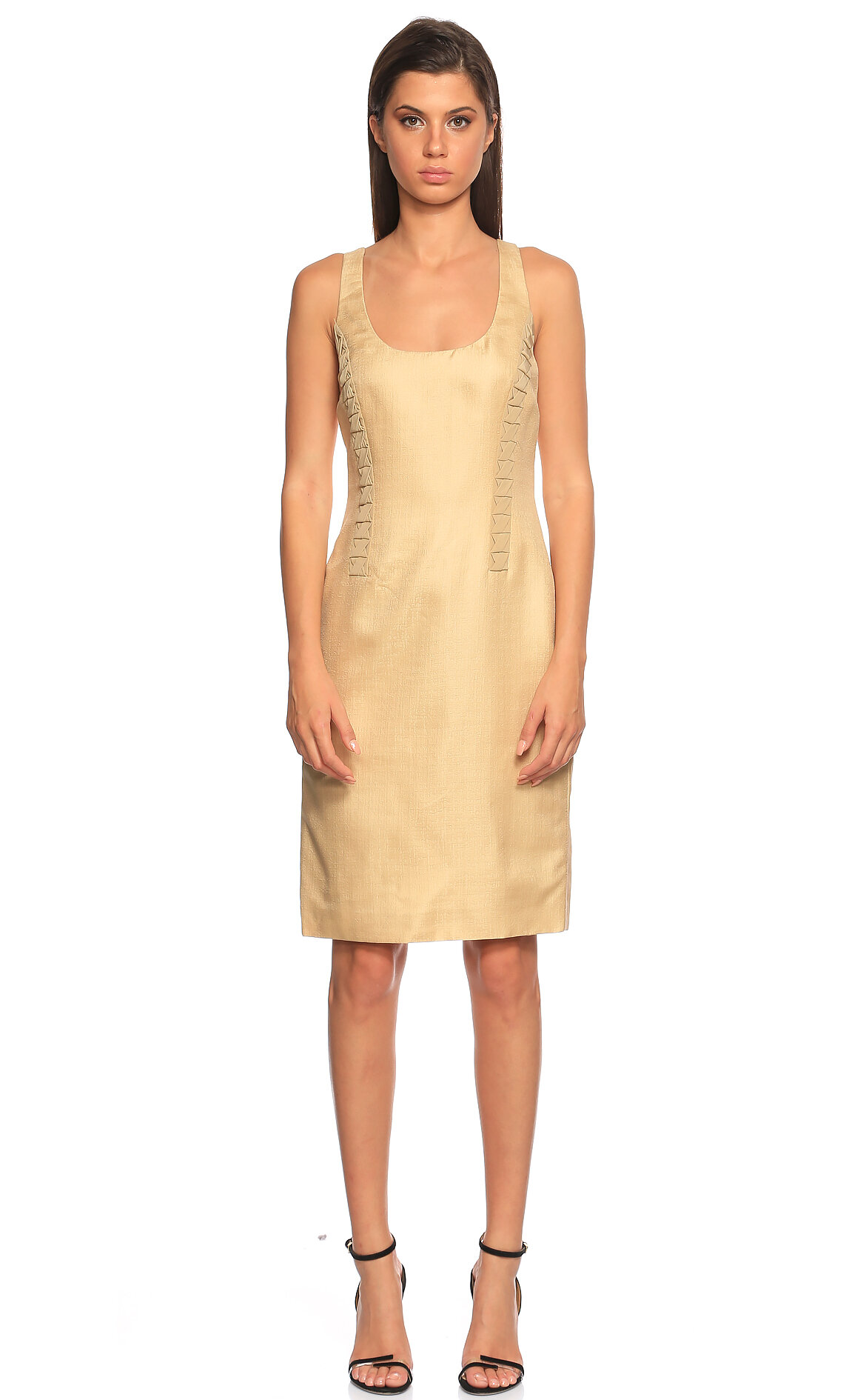 Versace  Kolsuz Bej Elbise