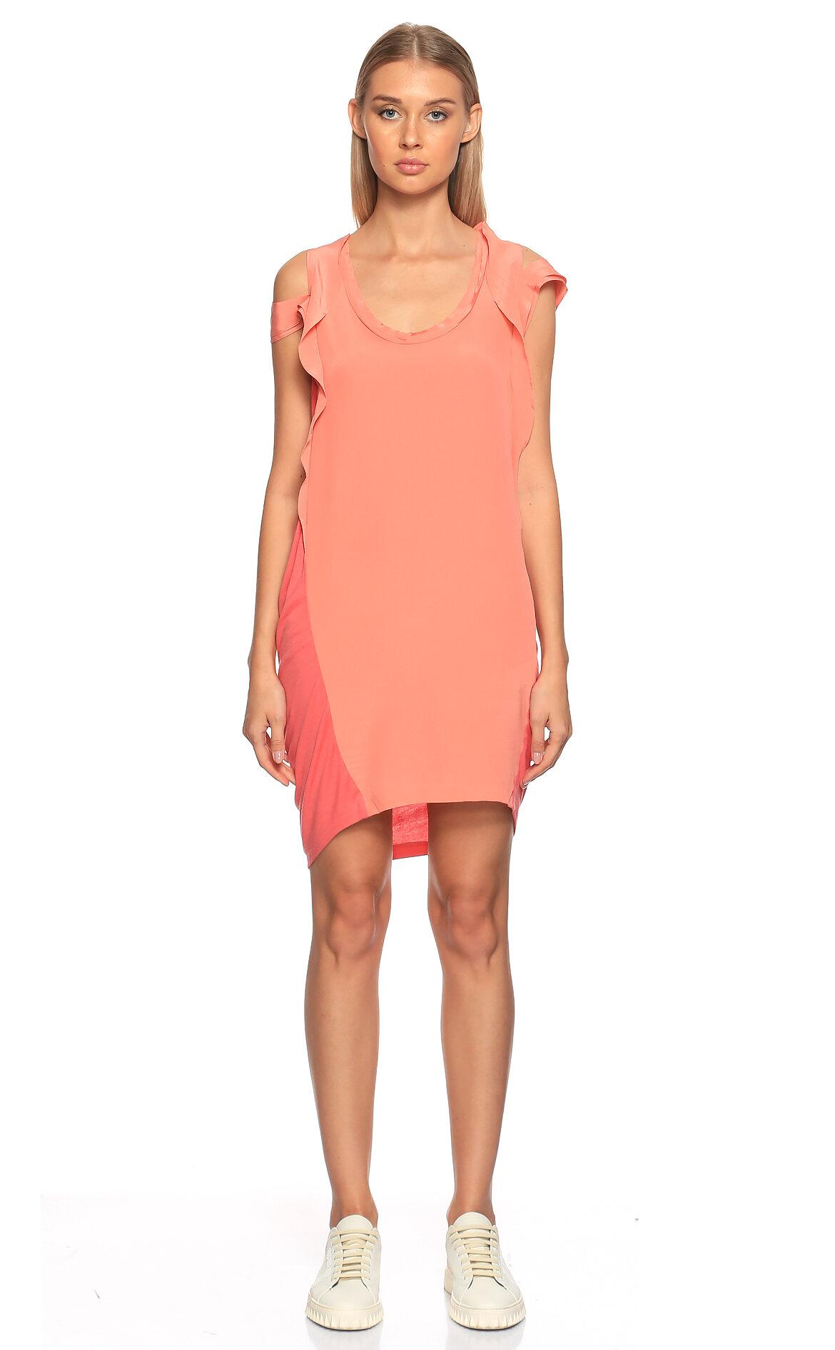Maje-Maje Pembe Mini Elbise