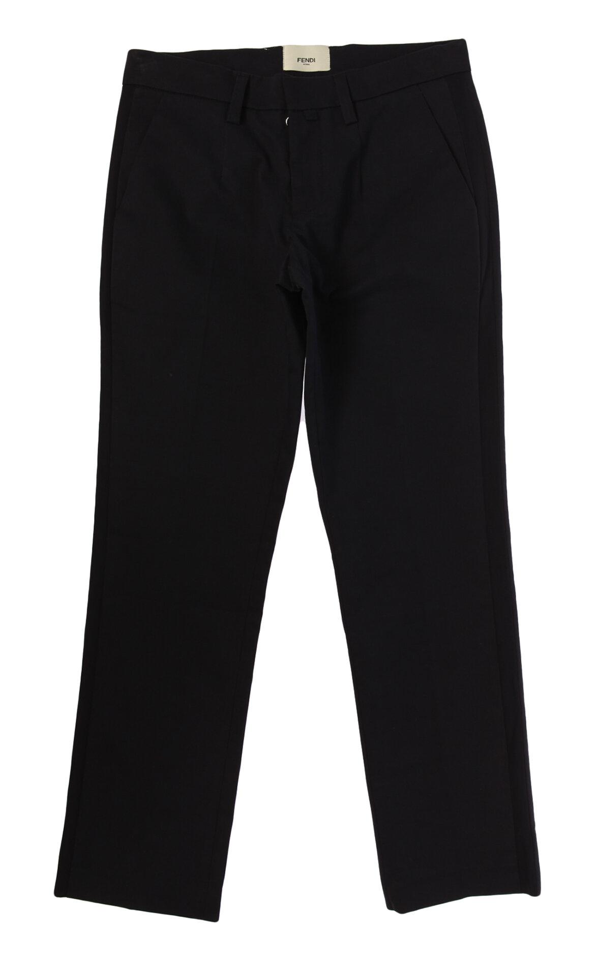 Fendi-Fendi Lacivert Smokin Pantolon