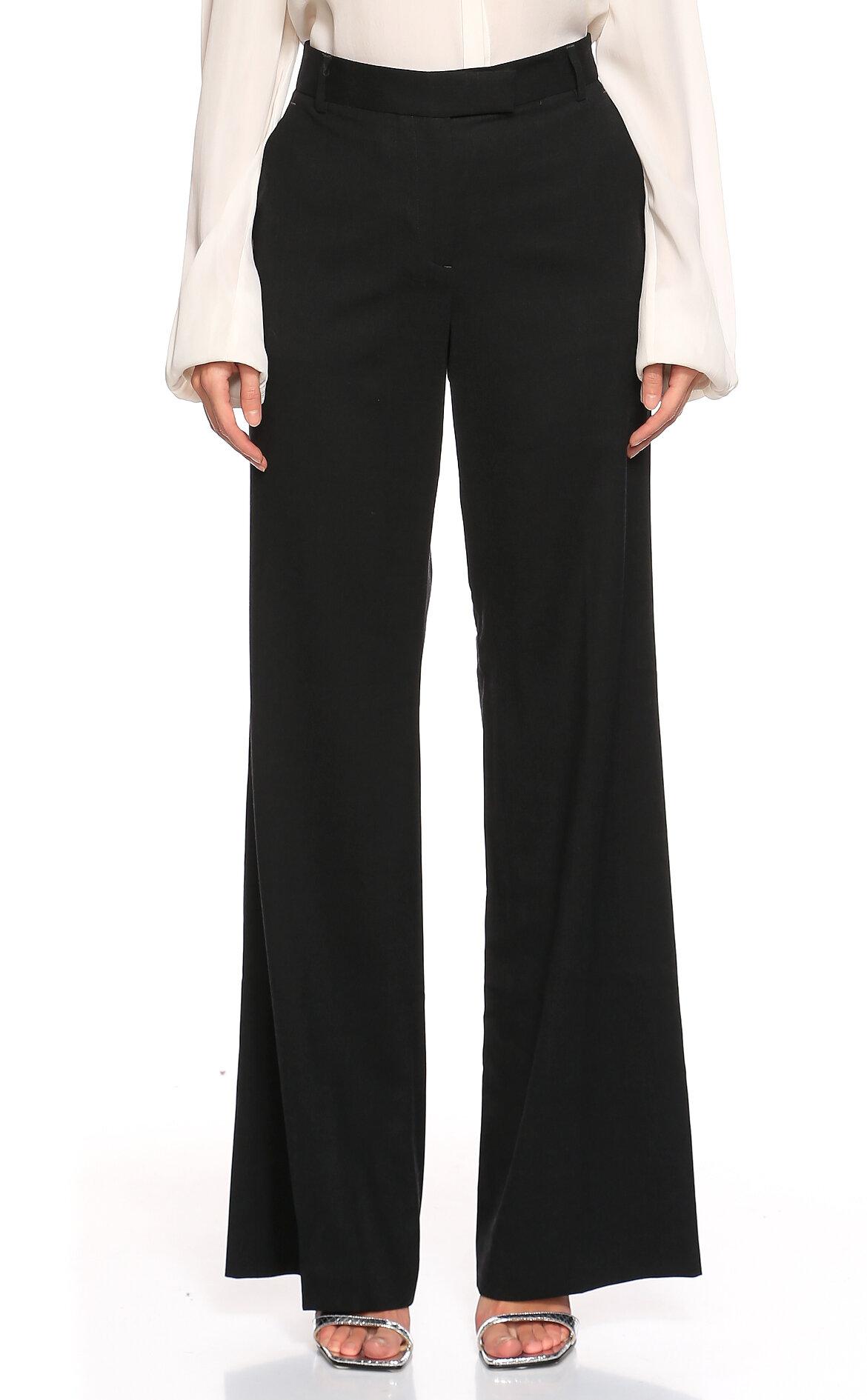 Nicole Farhi  Geniş Kesim Siyah Pantolon