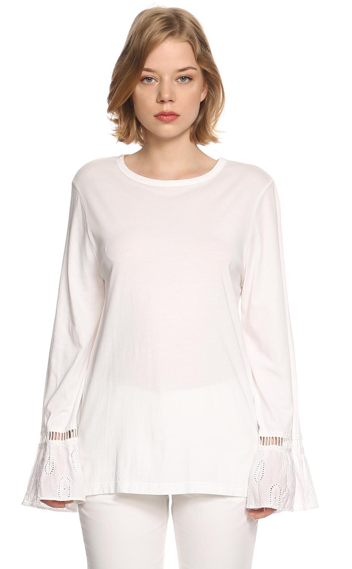 Clu  Beyaz Bluz