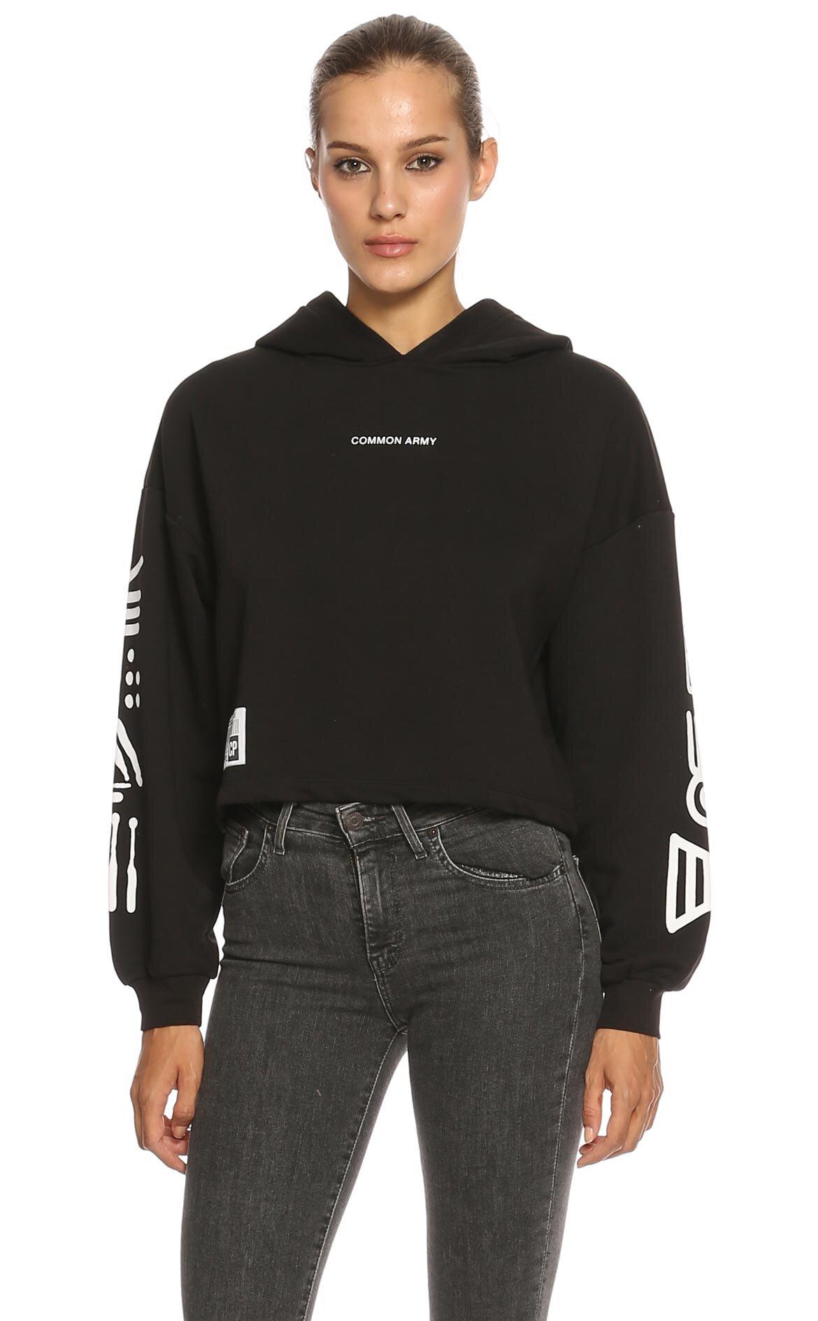 Common People-Common People Kapüşonlu Sweatshirt
