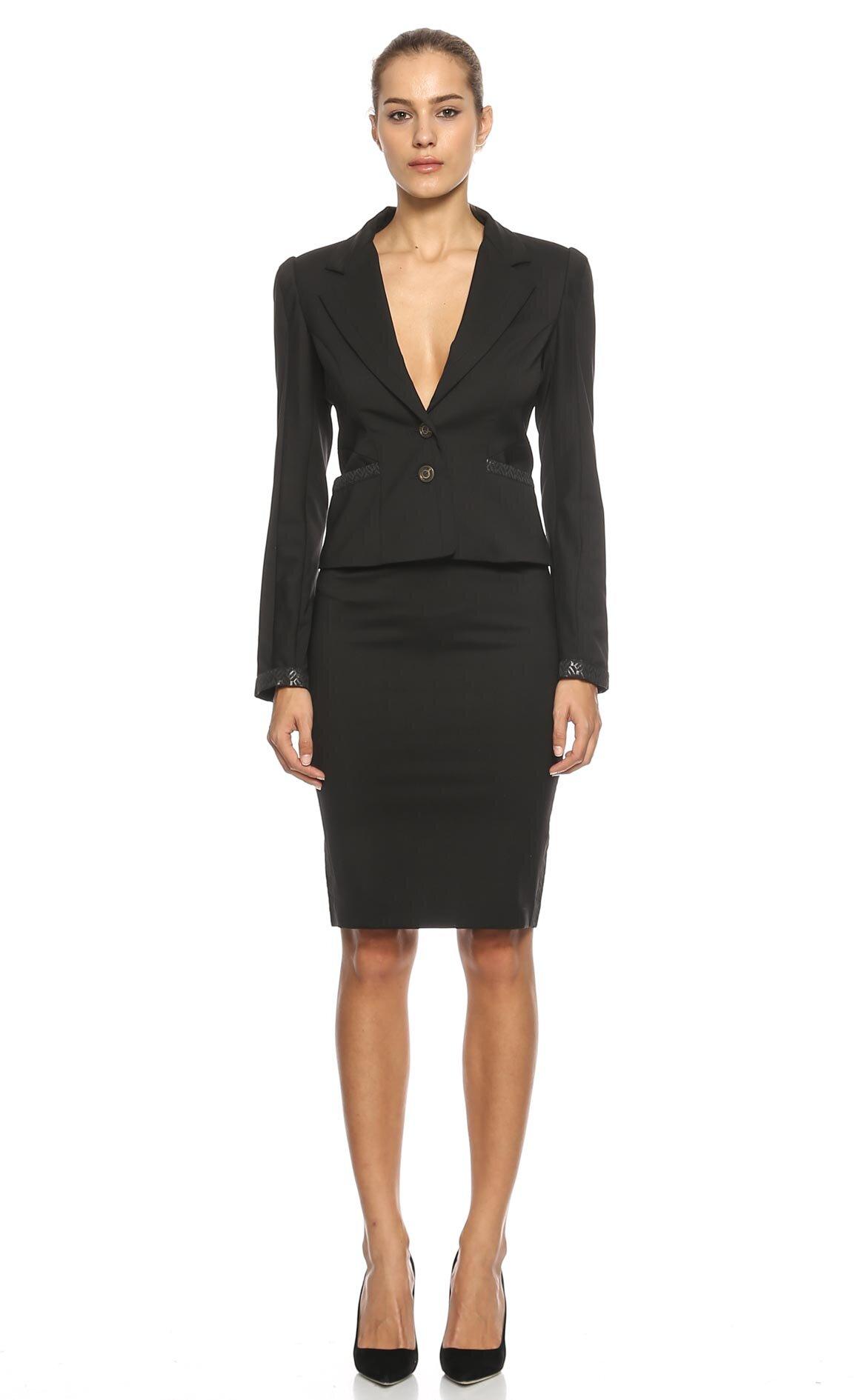 Just Cavalli  Etek Ceket Takım Elbise
