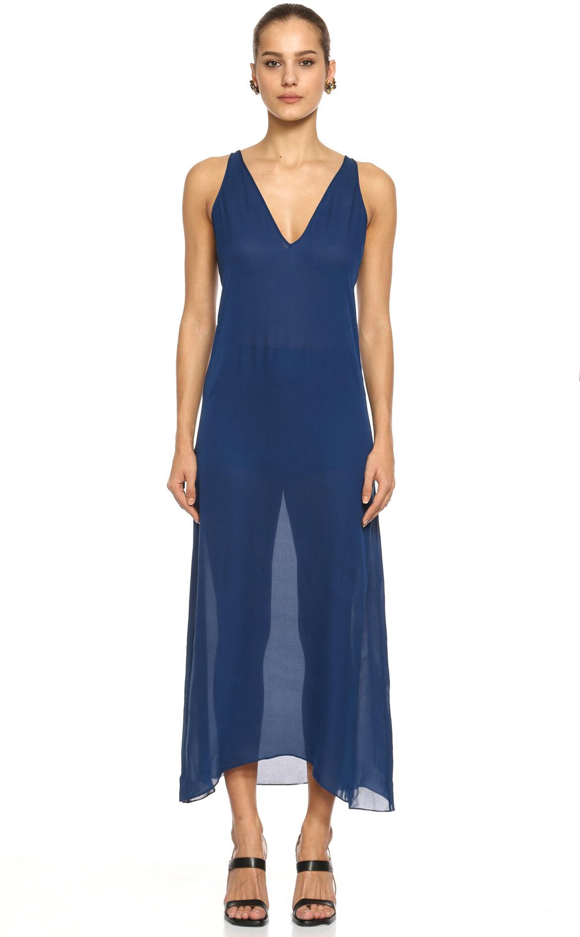 Diane Von Furstenberg  Mavi Elbise