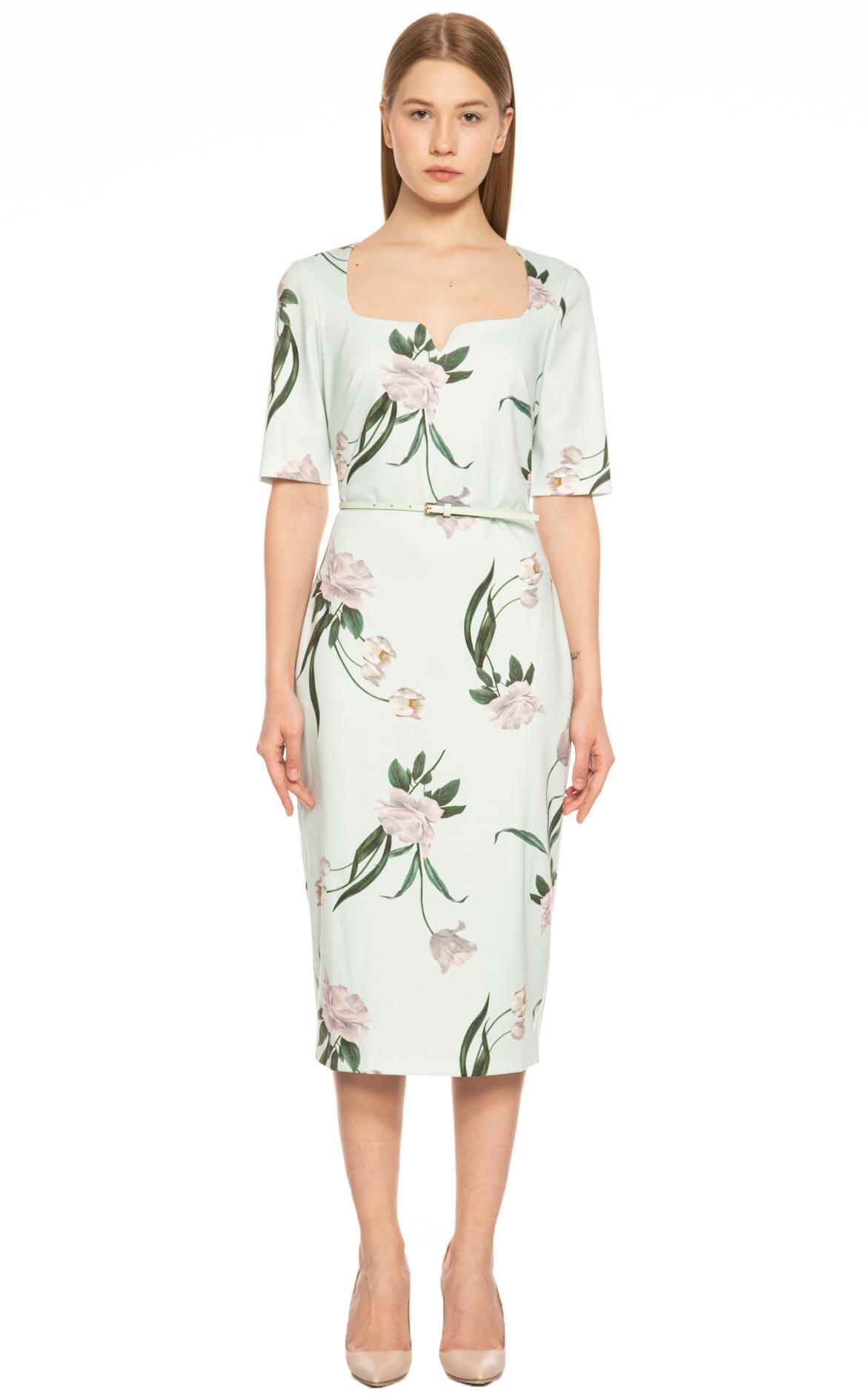 Ted Baker  Çiçek Desenli Elbise