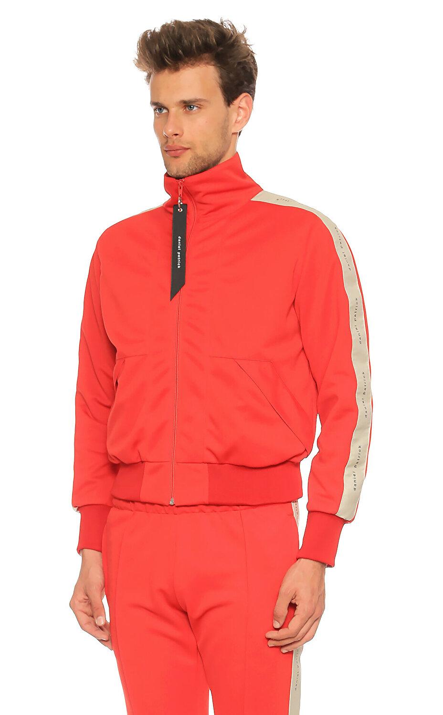 Daniel Patrick Balıkçı Yaka Kırmızı Ceket
