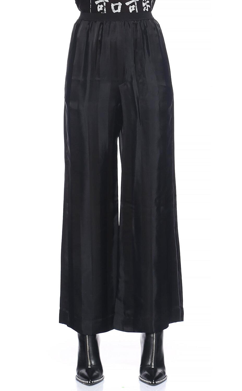 Marc Jacobs Geniş Kesim Siyah Pantolon
