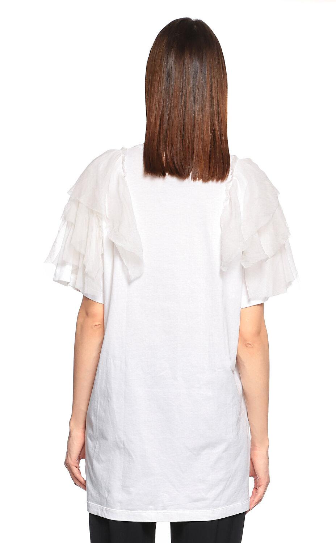 NO. 21 Beyaz T-Shirt