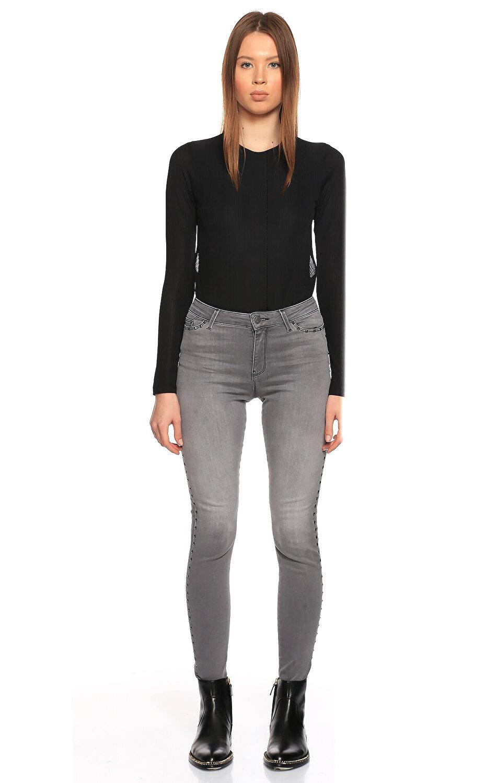 Karl Lagerfeld Skinny Gri Jean Pantolon