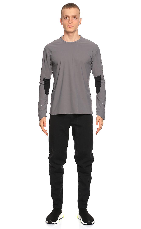 Isaora Siyah Gri T-Shirt