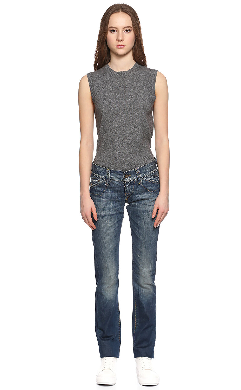 Fornarina Jeans Lacivert Jean Pantolon