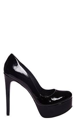 Schutz Siyah Ayakkabı