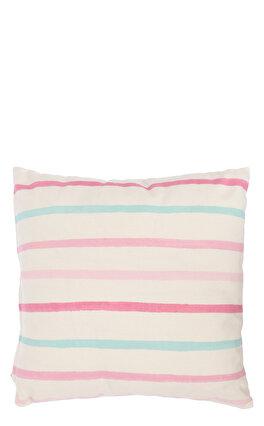 Laura Ashley Painterly Stripe Cdf Pink 35X35 cm Dekoratif Yastık