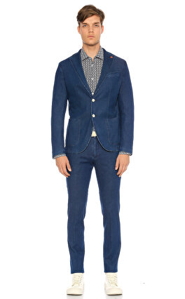Manuel Ritz Mavi Ceket