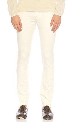 John Varvatos Usa Skinny Jean Beyaz Pantolon