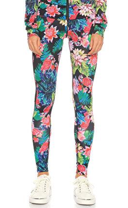 Guess Çiçek Desenli Renkli  Pantolon
