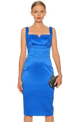 Karen Millen Mavi Elbise