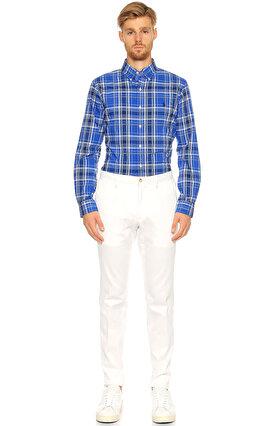 Ralph Lauren Blue Label Kareli Mavi Gömlek