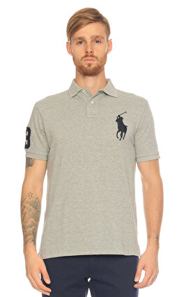 Ralph Lauren Blue Label Gri Polo T-Shirt