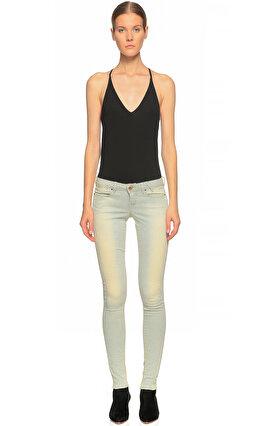 Guess Skinny Jean Renkli Pantolon