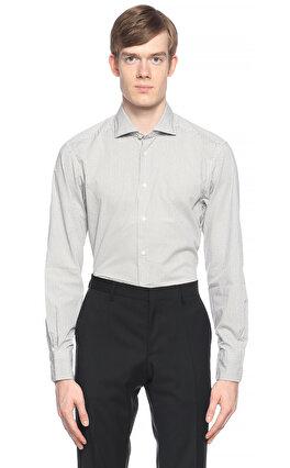 Camicissima Puantiyeli Beyaz Gömlek