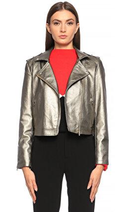 Silvian Heach Gümüş Rengi Ceket