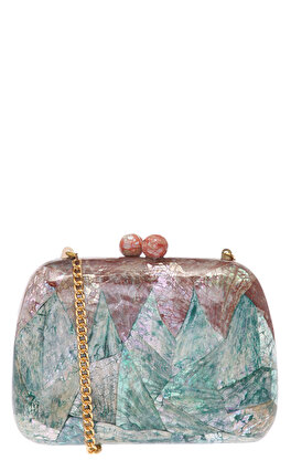 Luya Handcrafts Splash Clutch