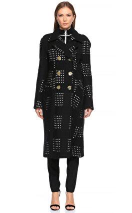 Victoria Beckham Siyah-Beyaz Palto