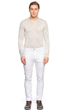 Michael Kors Collection Beyaz Denim Pantolon