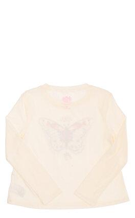 Juicy Couture Kız Çocuk  Baskı Desen Uzun Kollu T-Shirt