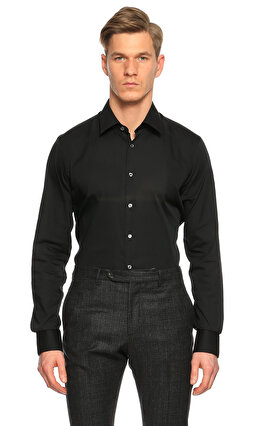 Van Laack Siyah Gömlek