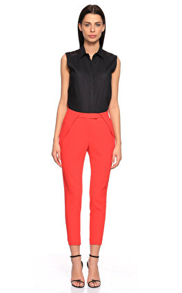 Karl Lagerfeld Kırmızı Pantolon