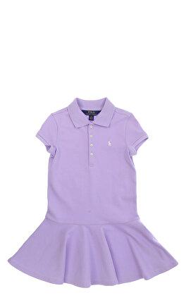 Polo Ralph Lauren Polo Eflatun Kız Çocuk Elbise