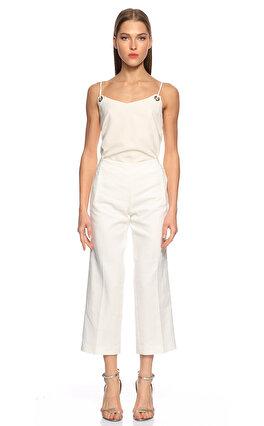 Elie Tahari Beyaz Pantolon